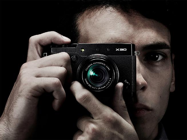 Fujifilm X30 In Hand