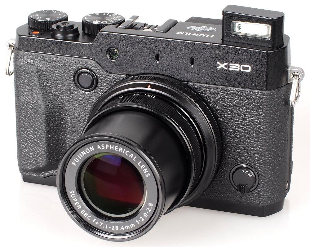 Fujifilm X30 Black (5)