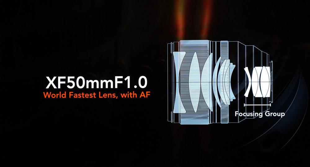 Fujifilm Xf 50mm F1 0
