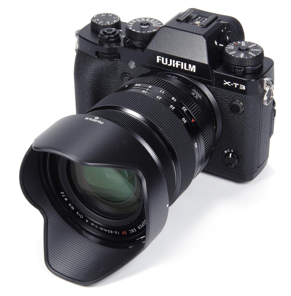 Fujinon 16 80mm F4 On Fujifil X T3 With Hood