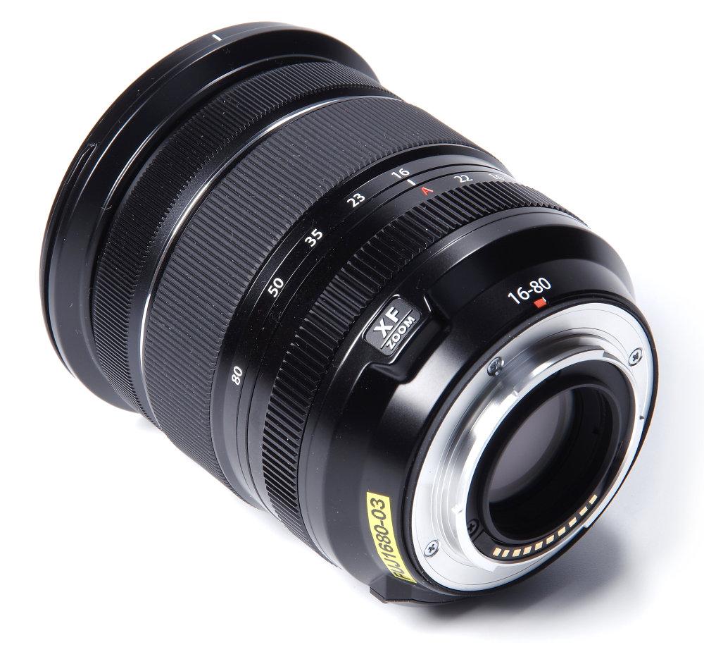 Fujinon 16 80mm F4 Rear Oblique View