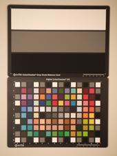 Fuji Finepix Z800EXR Test chart ISO100