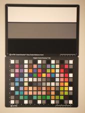 Fuji Finepix Z800EXR Test chart ISO400