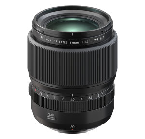 Fujinon GF 80mm f/1.7 R WR Announced