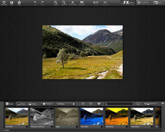 Fx Photo Studio Pro For Mac Screenshot 1