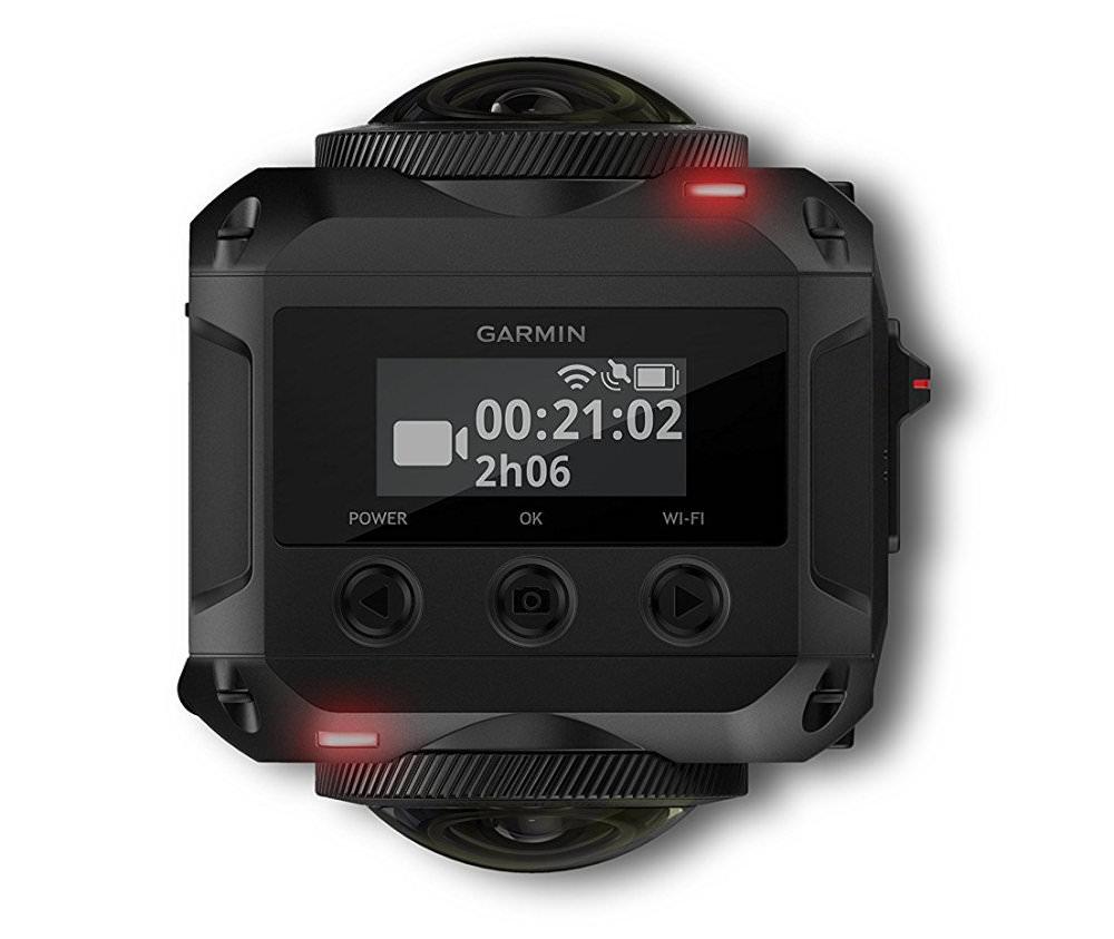 Garmin Virb360top