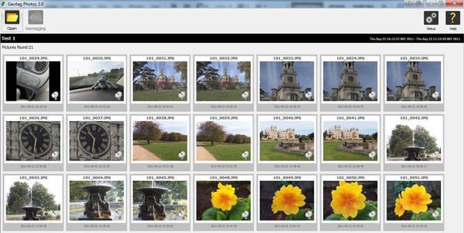 Geotag Photos Pro iPhone App Screenshot