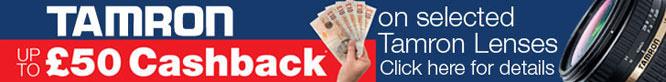 Tamron Cashback Offer