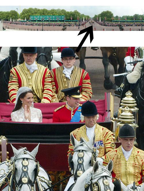 Royal Wedding panorama