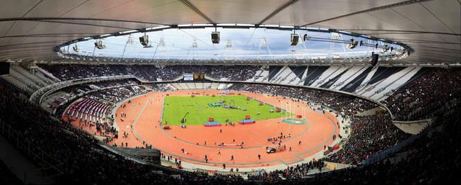 London 2012 Olympic Stadium, Edward Richard Miller