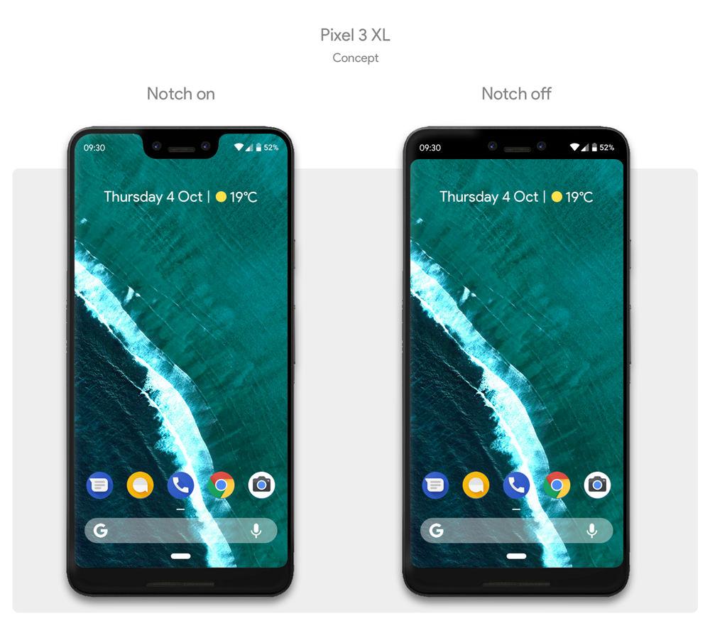 Pixel 3 Concept Design