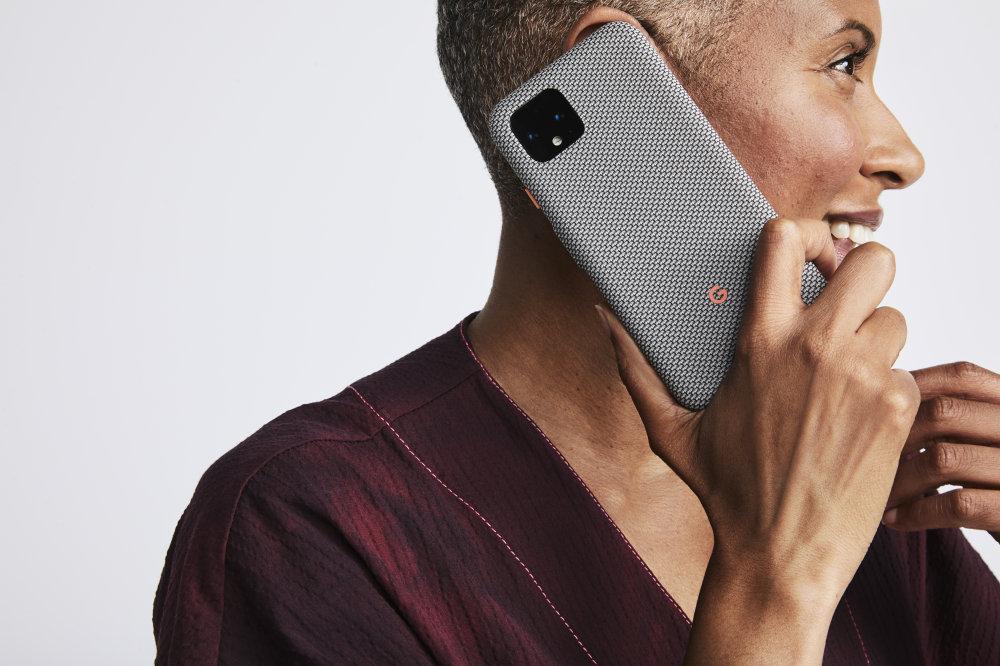 Google Pixel 4 smartphone in a Google Pixel 4 Case