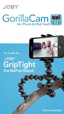 Joby GorillaCam Screenshot