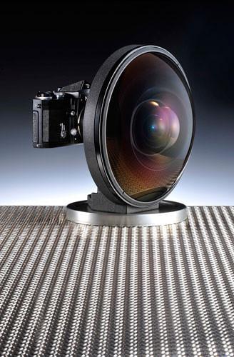 220 Nikkor fisheye lens