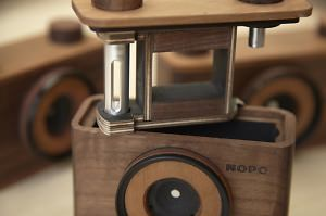 Hand-Crafted Wooden Pinhole Cameras Coming To The Photography Market