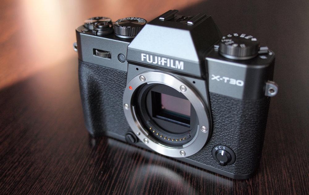 Fujifilm X T30 Graphite Silver (10)