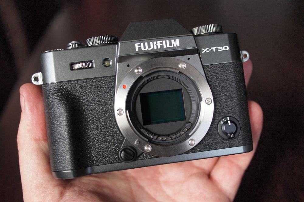 Fujifilm X T30 Graphite Silver (13)