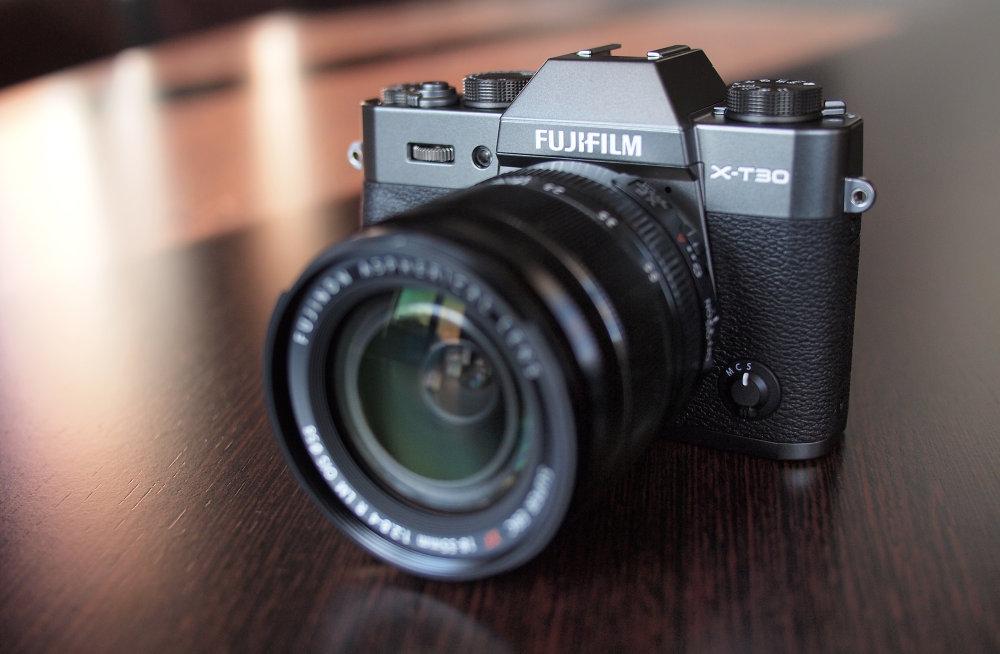 Fujifilm X T30 Graphite Silver (1)