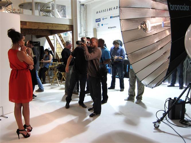 Hasselblad Hands On ePHOTOzine Studio Day