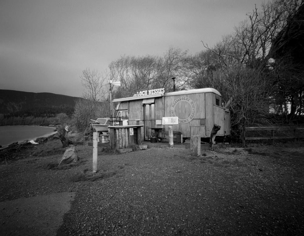Delta Shot Of Nessie Watcher Van At Loch Ness