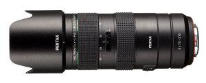 HD Pentax-D FA 70-210mm f/4 ED SDM WR Announced