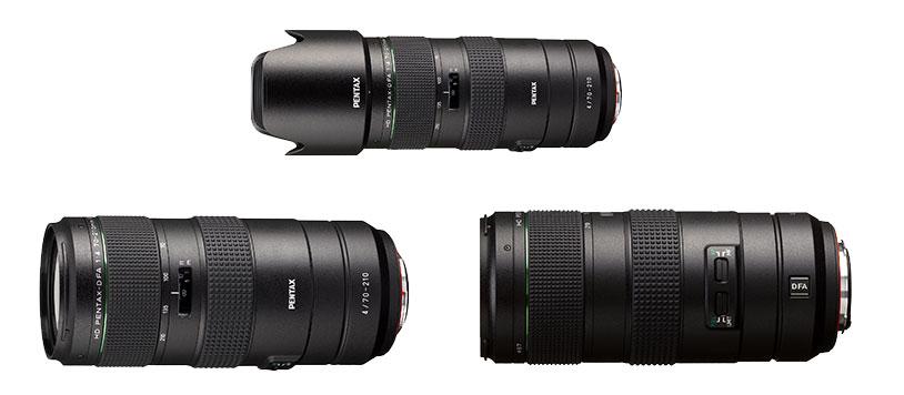 HD Pentax-D FA 70-210mm f/4 ED SDM WR