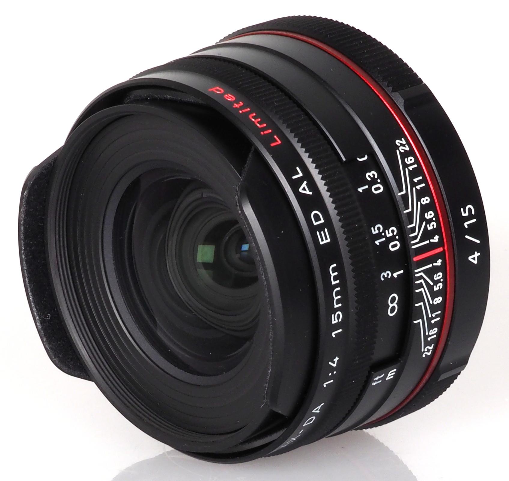 Bocci Len hd pentax da 15mm f 4 ed al limited lens review