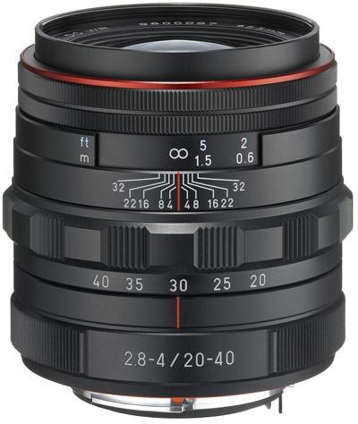 Pentax DA 20-40mm lens
