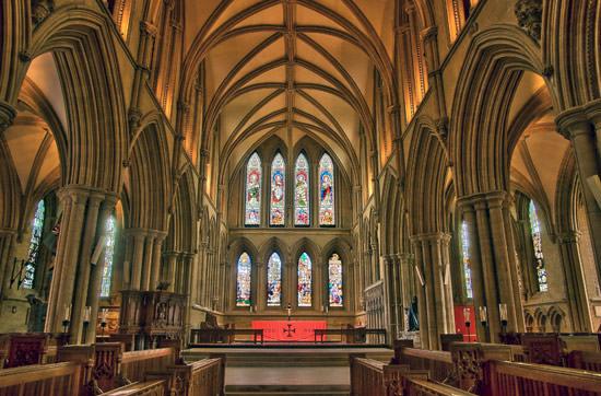 church HDR exposure