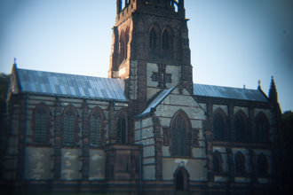 Holga lens - Church