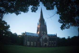 Holga lens with FEL-HLW - Church