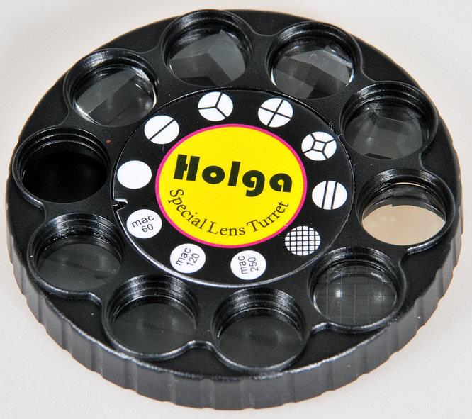 Holga Lens With Special Lens And Filter Turret For Nikon Dslr 4