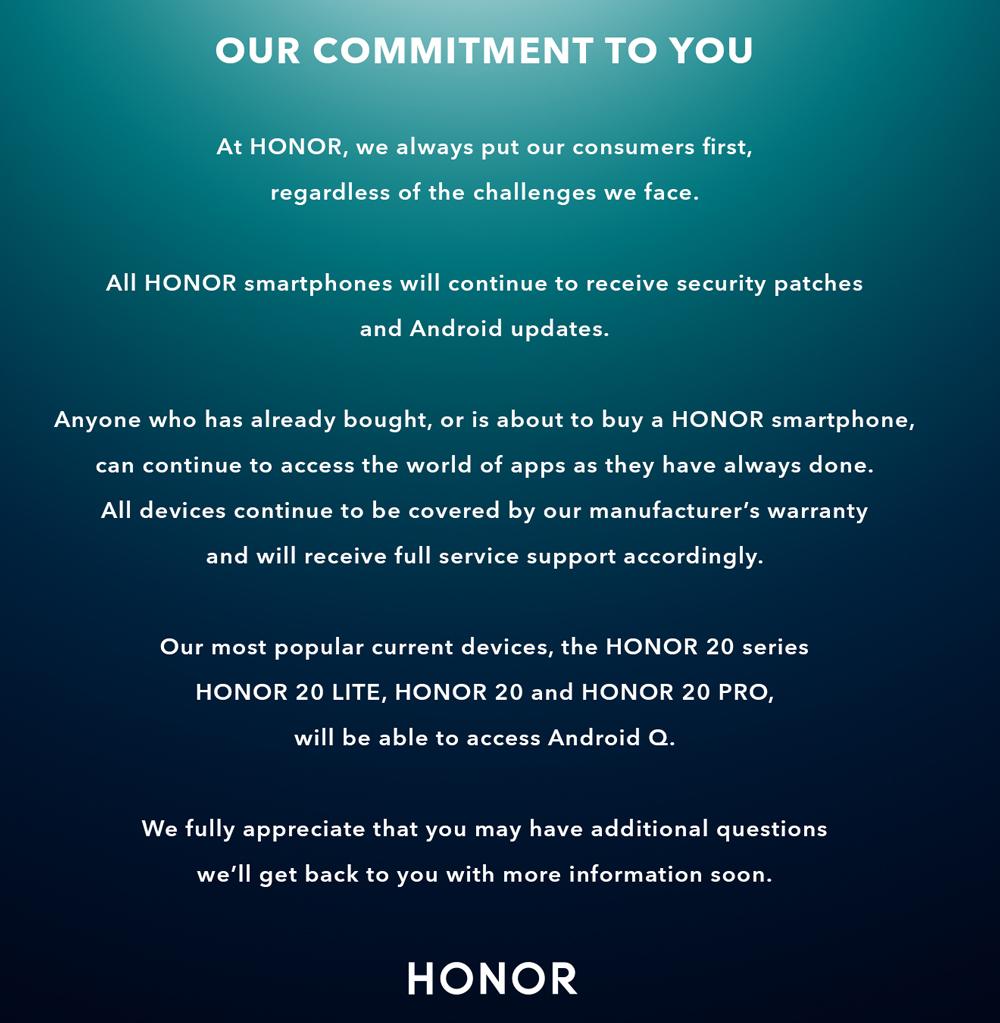 Honor Statement