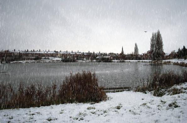 Snow added