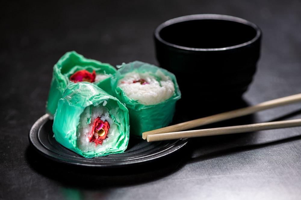 COOPH plastic sushi