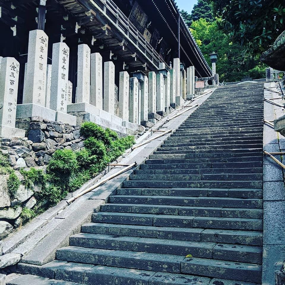 Steps in Japan