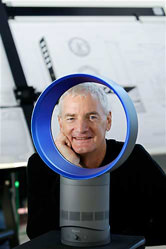 Sir James Dyson shot one