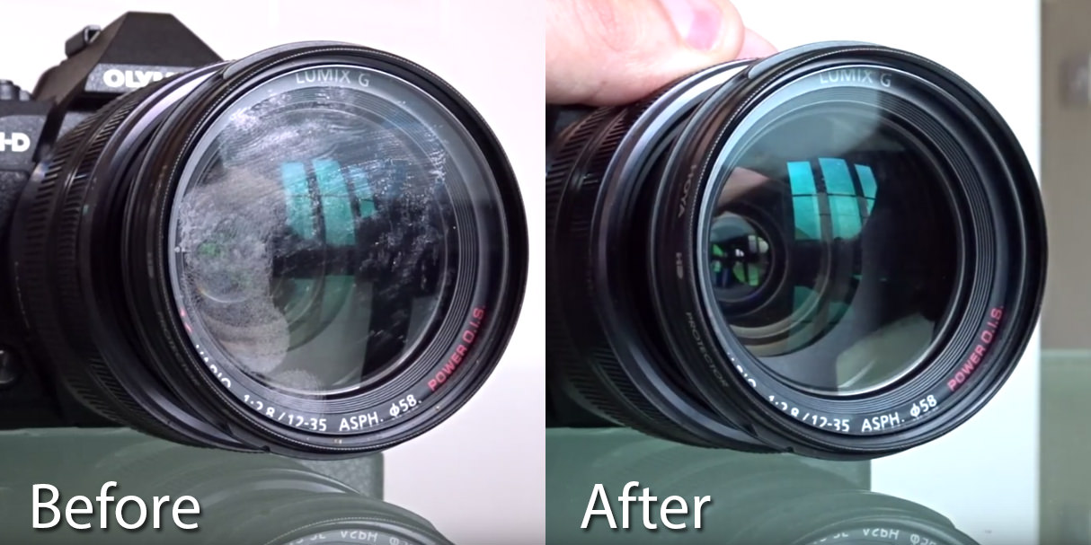 How To Quickly Clean A Lens Filter