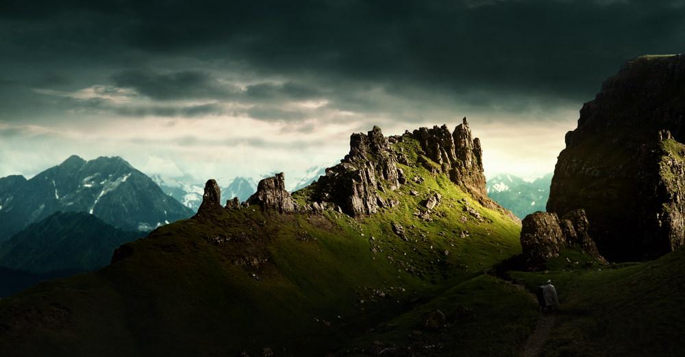 Landscape image - final result