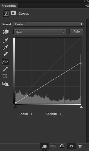 Curves adjustment layer