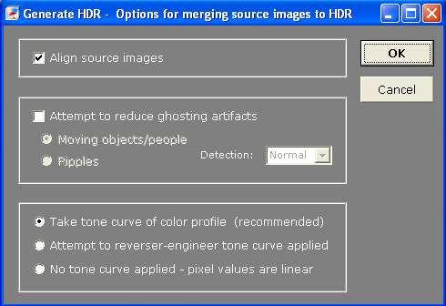 Merge images