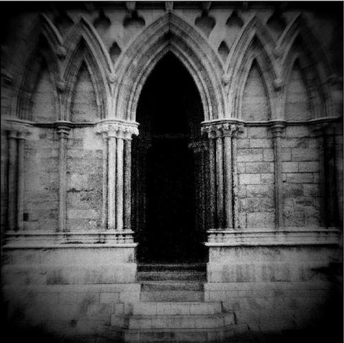 Finished black & white image