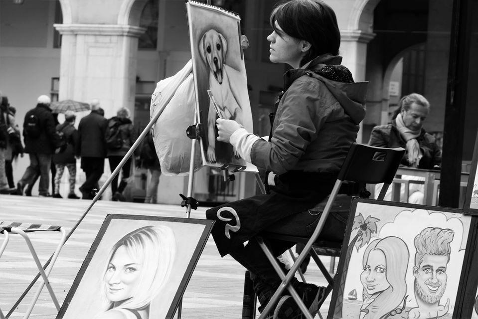 Artist in Mallorca