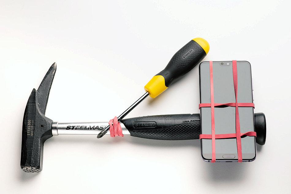 DIY Stabiliser For Smartphones