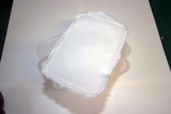 Cover container with your favoured diffusing material.