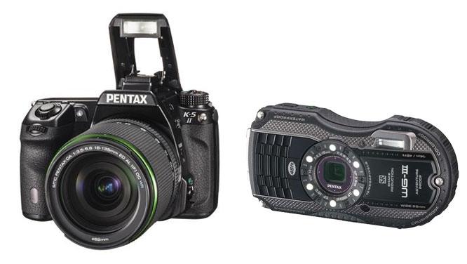 Pentax K-30 & WG II