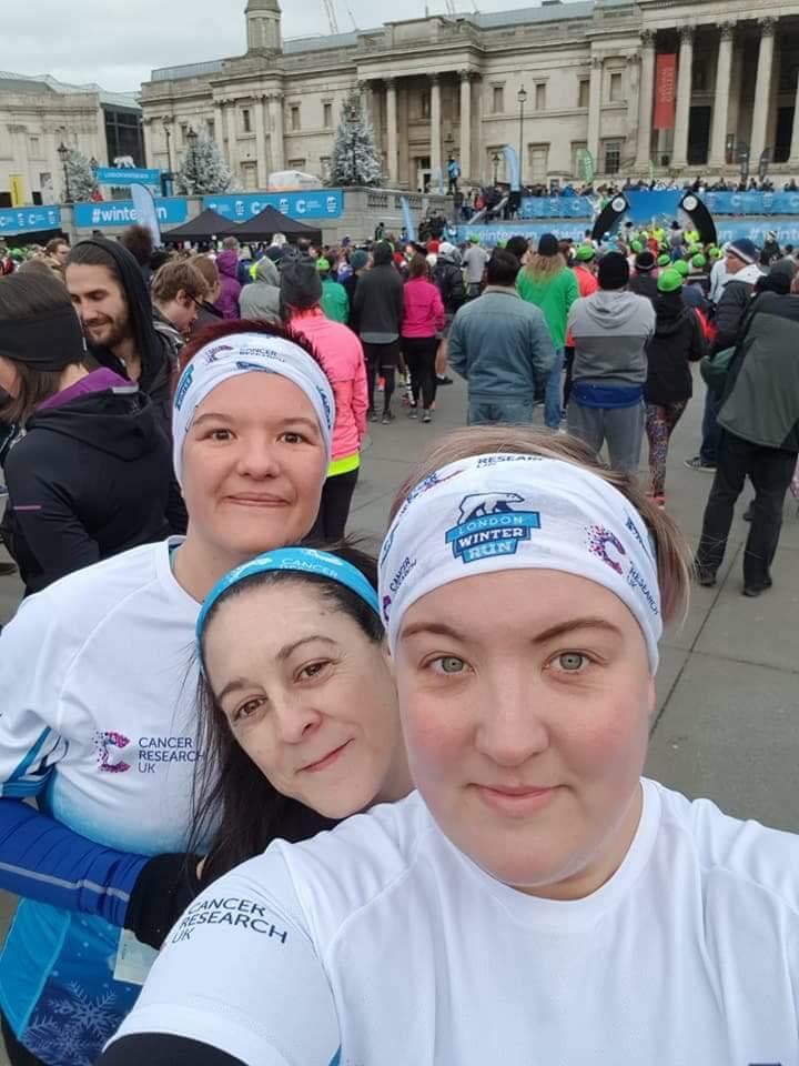 London Winter Race 10K Runners