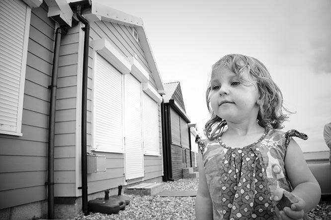 Portrait taken on a short focal length