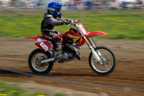 Motorcross blur