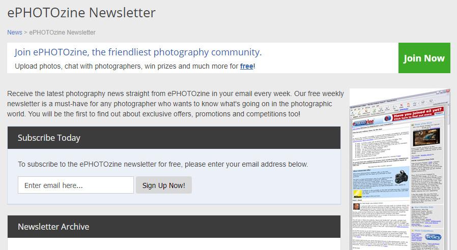 ePz newsletter